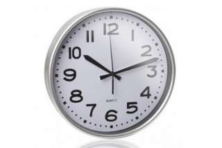 "Reloj de Pared ""Silver"" Código"